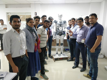 ADI - Launch of Humanoid  #MakeInIndia innovation