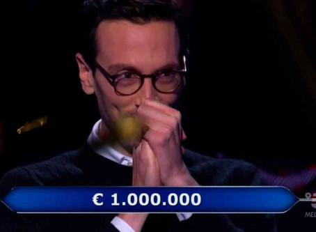 """Il concorrente di """"Chi Vuol Essere Milionario"""" è riuscito a vincere 1 milione!"""