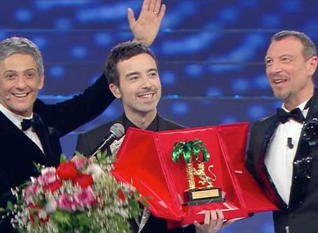 Sanremo: vince Diodato. È boom di share, oltre il 60%