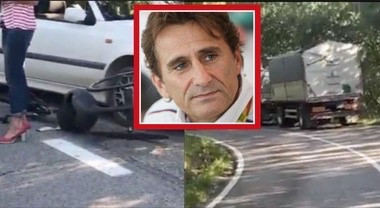 Alex Zanardi in condizioni critiche dopo un'incidente con un mezzo pesante.