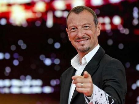 Sanremo: lo stop dal Comitato Tecnico Scientifico. Amadeus verso le dimissioni