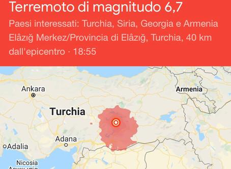 Terremoto in Turchia. Ad ora 4 i morti
