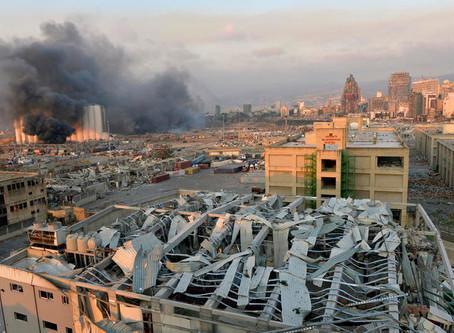 Beirut come Hiroshima. Corsa contro il tempo per salvataggio vite umane.
