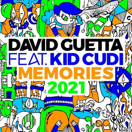 """""""Memories"""", il celebre brano di David Guetta rivive con il nuovo remix 2021"""