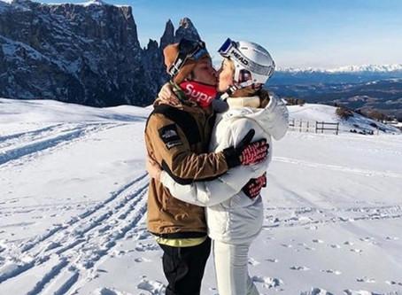 Tre le vacanze di lusso, i Ferragnez scelgono le Dolomiti