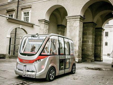 A Merano il primo autobus senza autista