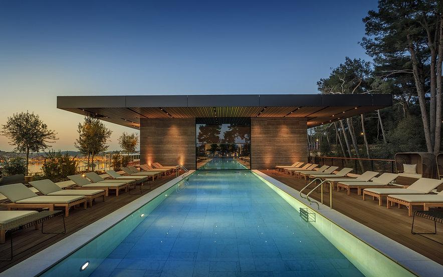 Grand Park Hotel - Rovigno - Architectur
