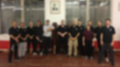 me colin ward sifu and students training