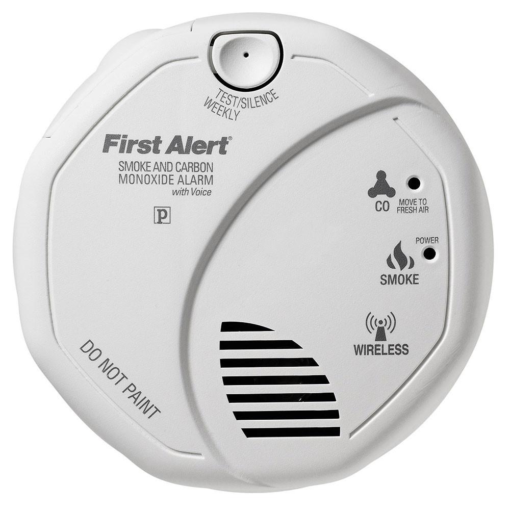First alert talking smoke co2 monitor