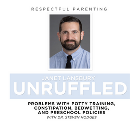 Problems with Potty Training, Constipation, Bedwetting, and Preschool Policies