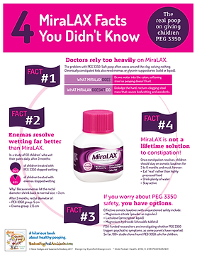 4 miralax facts you didn t know home dr hodges bedwetting and