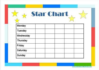 Reward Chart Printable Unicorn Incentive Chart Digital ...