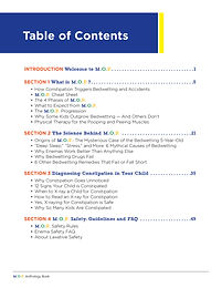 M.O.P. Table of Contents