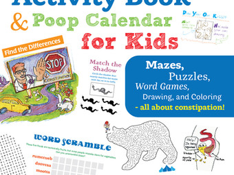 Dr. Pooper's Activity Book and Poop Calendar for Constipated Kids!