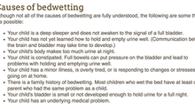 To the American Academy of Pediatrics: Please Update Your Bedwetting Advice