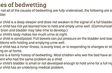 "Bedwetting Treatment: Why Even the ""Nuclear"" Option Can't"