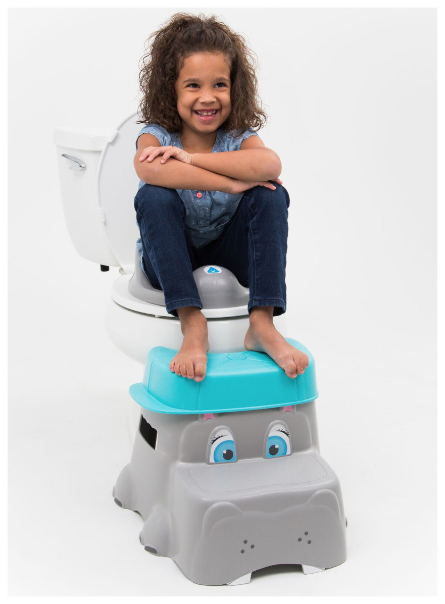 Squattypottymus potty stool helps constipated kids