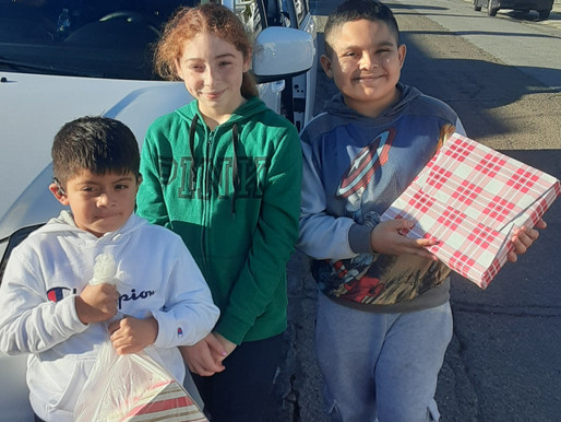 MPBGC Youth Receive Toys for the Holidays
