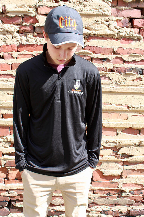 Black City Quarter Zip