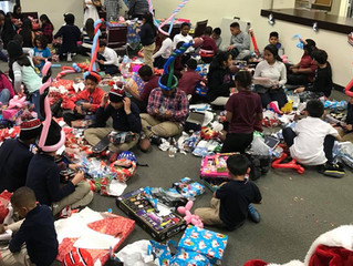 YLD Continues Annual Holiday Tradition by Hosting Children's Holiday Party