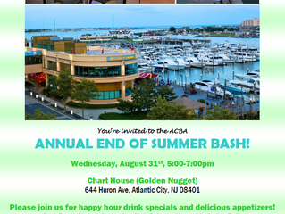 YOU are invited to the ACBA End of Summer Bash!