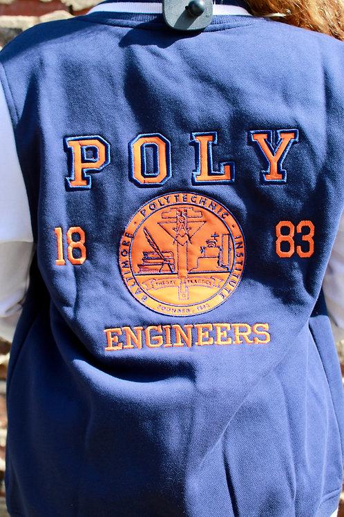 Poly Varsity Jacket
