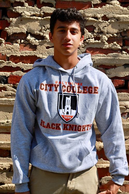 City 2 Layer Flock Hoodies