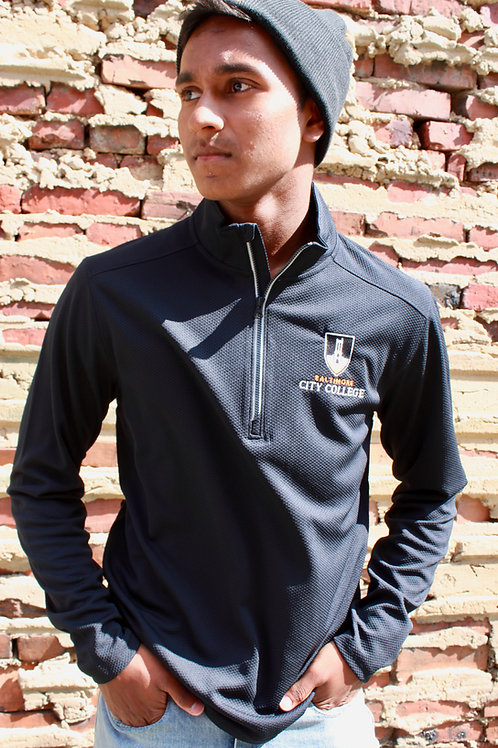 Textured City Quarter Zip
