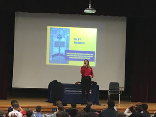 ACBA Young Lawyers Division Sponsors National Constitution Center Program at William Davies Middle S