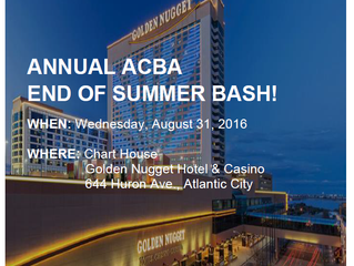 SAVE THE DATE! The YLD's Annual ACBA End of Summer Bash 8/31/16
