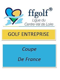 Logo Golf Entreprise Coupe de France..jp