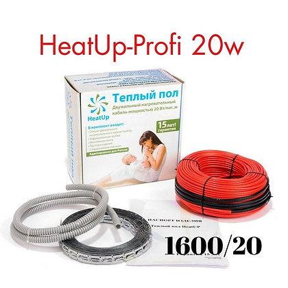 Теплый пол под плитку HeatUp-PROFI 80м до 16м2