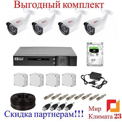 Видеонаблюдение купить Сочи, Адлер, Красная поляна, Абхазия