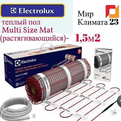 Теплый пол. Electrolux EMSM 2-150-1,5. Мир Климата 23