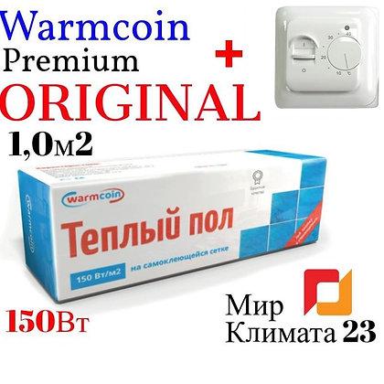 Теплый пол Warmcoin-1,0м2 (Выгодный комплект)