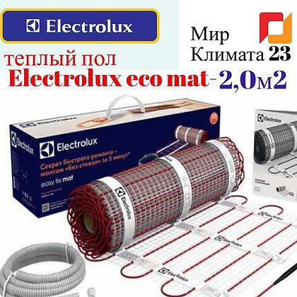 Теплый пол купить. Electrolux EEM 2-150-2,5м2. Мир Климата 23.