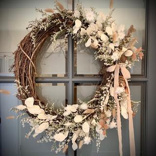 "24"" Dried Floral Wreath"