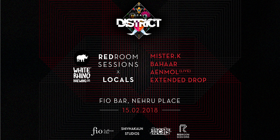 Redroom Sessions x Locals District