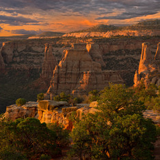 Colorado National Monument - Bookcliff View Overlook