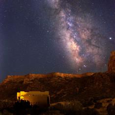 Milky Way Over High Tiara