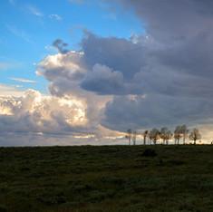Sunset near Vernal