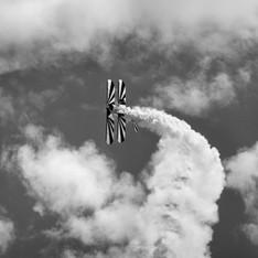 Air Show Biplane