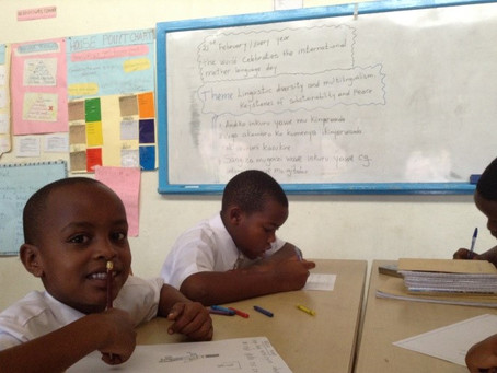 Guest Post: International Mother Language Day at Umubano Primary School