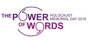 The Power of Words: Holocaust Memorial Day 2018