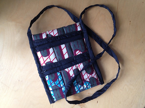 Over the shoulder fabric bag