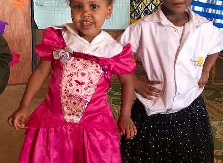 Sophia in Nursery