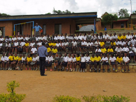 Umubano Primary School: six months in six pictures