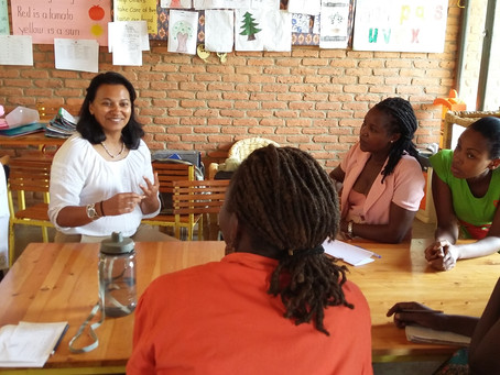 Guest Blog: Sandy's visit to Umubano Primary