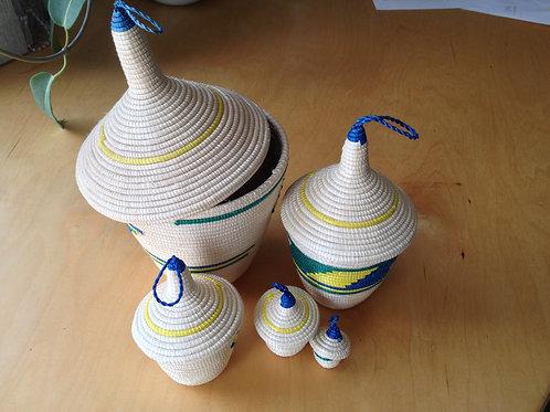 Sisal peace baskets