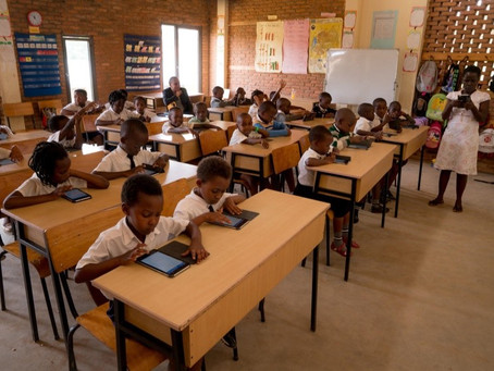 Umubano Primary School embraces Library for All